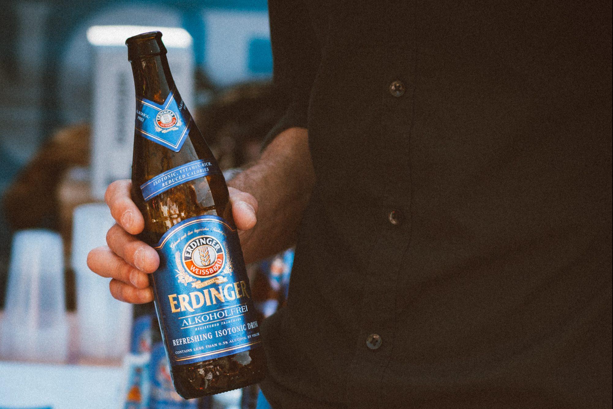 Erdinger alcohol-free beer