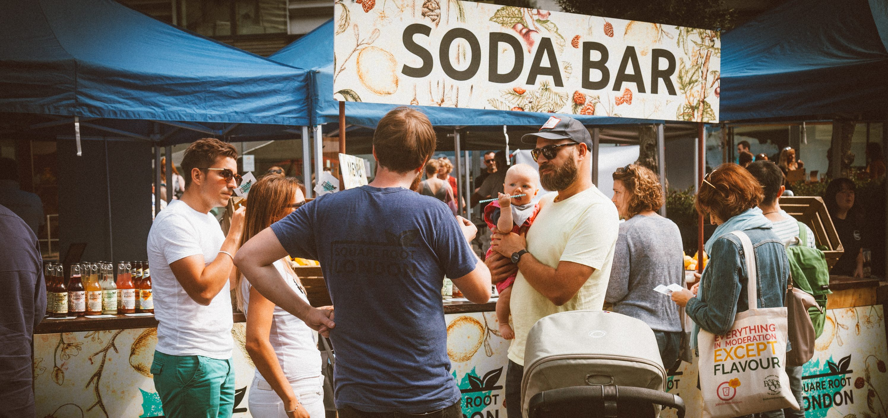 Soda Bar Mindful Drinking Festival
