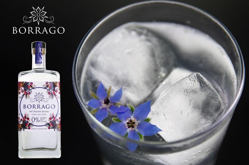 Borrago non-alcoholic spirit