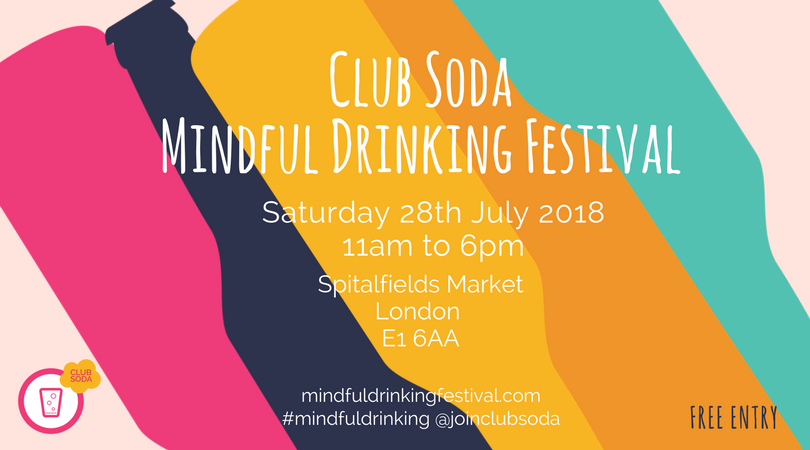 Mindful Drinking Festival London 28 July 2018