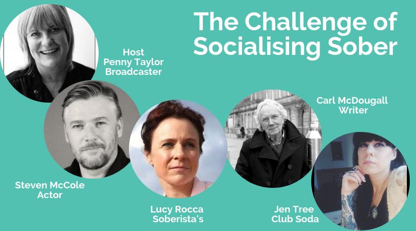 Challenge of socialising sober