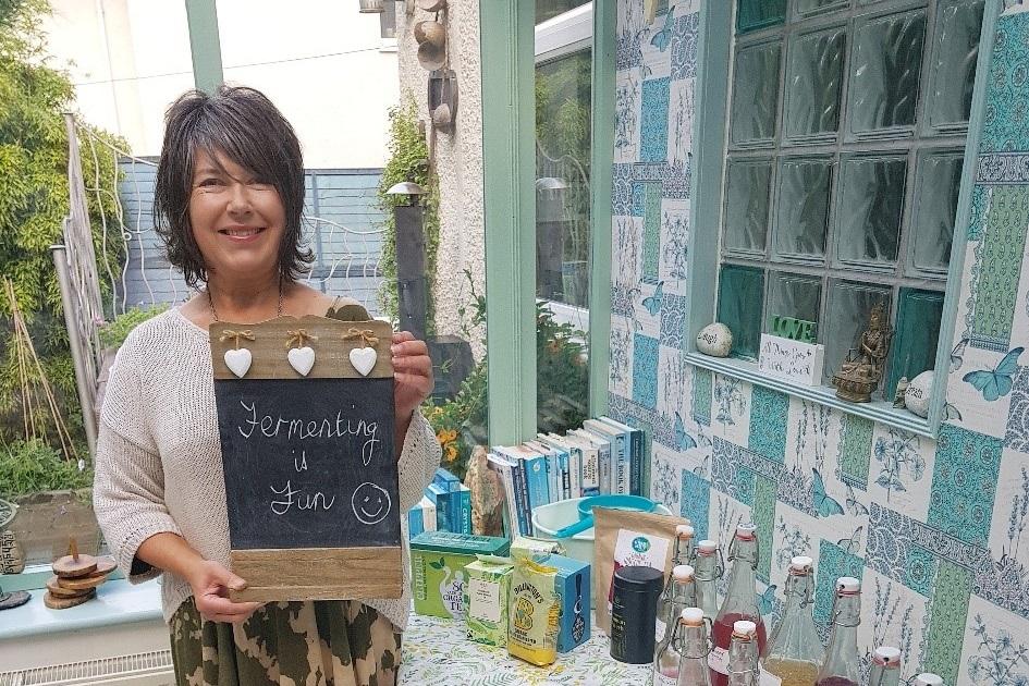 Fermented drinks workshop Janice