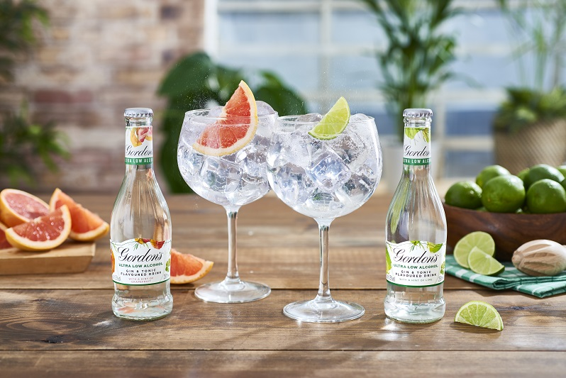Gordons Ultra Low GnT