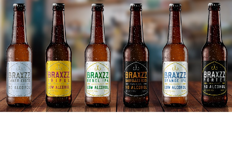 Braxzz range of beer & cider