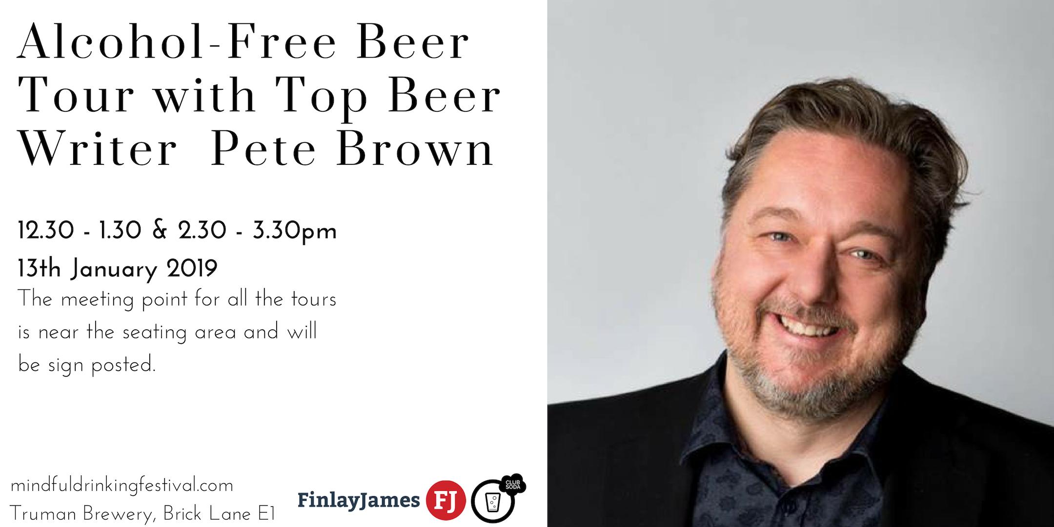 Pete Brown beer tour