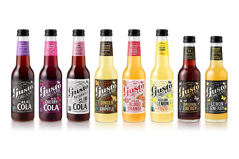 Gusto drinks range