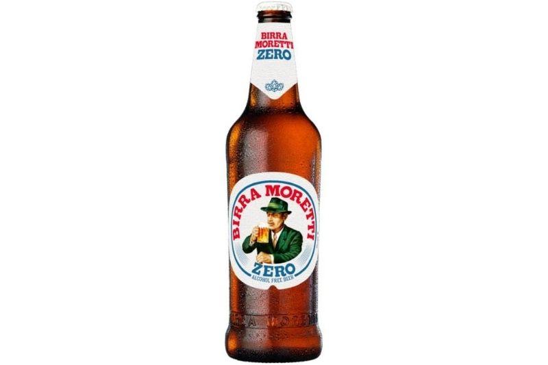 Birra Moretti Zero beer