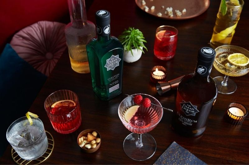 Clean Liquor low alcohol spirit