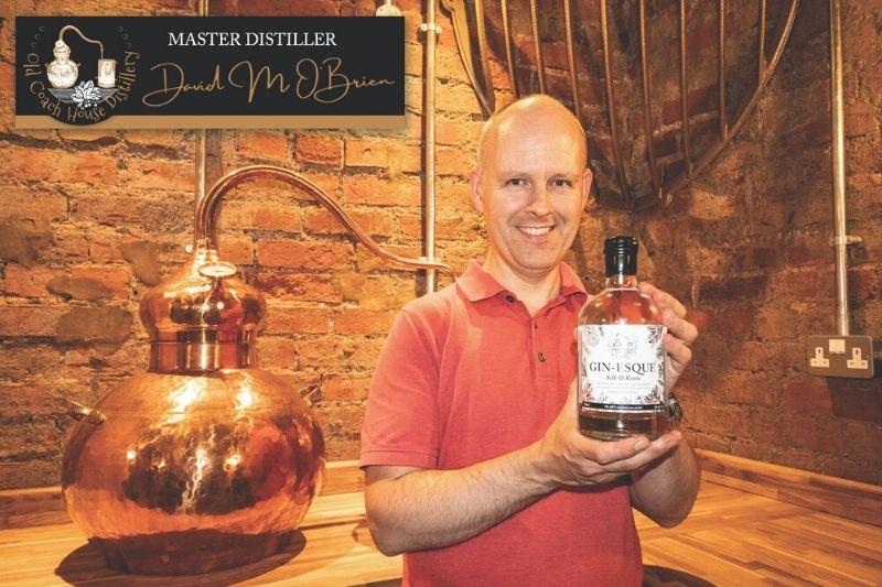 GIN-ESQUE distilled botanical spirit