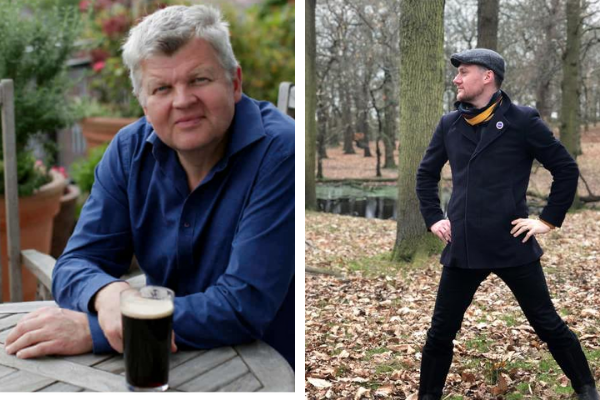 In conversation: Geoff Jeinn & Adrian Chiles